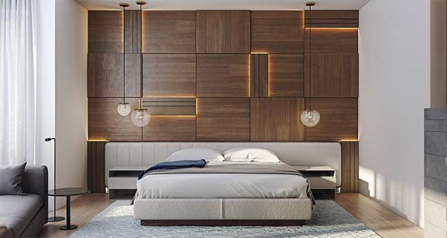 17 phòng ngủ gỗ xua tan định kiến về nội thất gỗ là nặng nề và già nua - Ảnh 8.