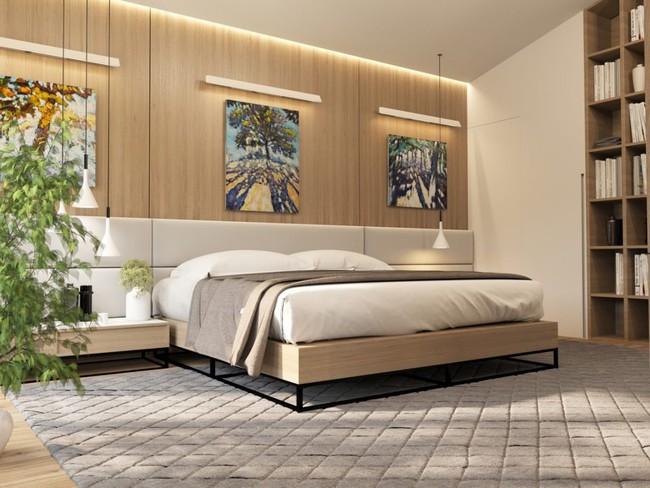 17 phòng ngủ gỗ xua tan định kiến về nội thất gỗ là nặng nề và già nua - Ảnh 10.