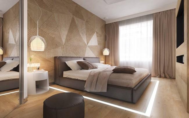 17 phòng ngủ gỗ xua tan định kiến về nội thất gỗ là nặng nề và già nua - Ảnh 15.