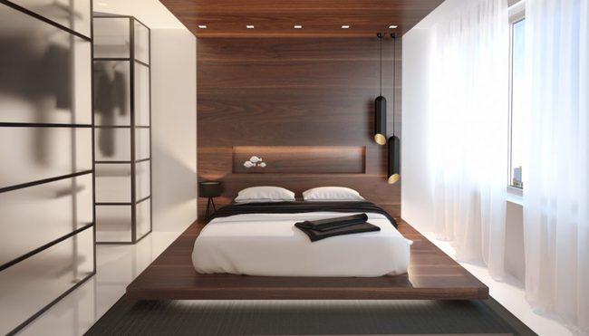 17 phòng ngủ gỗ xua tan định kiến về nội thất gỗ là nặng nề và già nua - Ảnh 16.