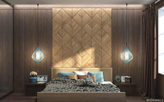 17 phòng ngủ gỗ xua tan định kiến về nội thất gỗ là nặng nề và già nua - Ảnh 17.