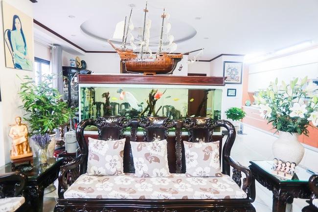 Căn hộ 263m² với không gian cổ trong lòng chung cư hiện đại, có chi phí hoàn thiện 1,2 tỷ đồng ở Cầu Giấy, Hà Nội. - Ảnh 8.