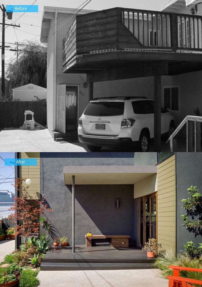 Ngôi nhà cũ kĩ trở nên hiện đại hơn nhờ sự cải tạo thông minh của chủ nhà - Ảnh 1.