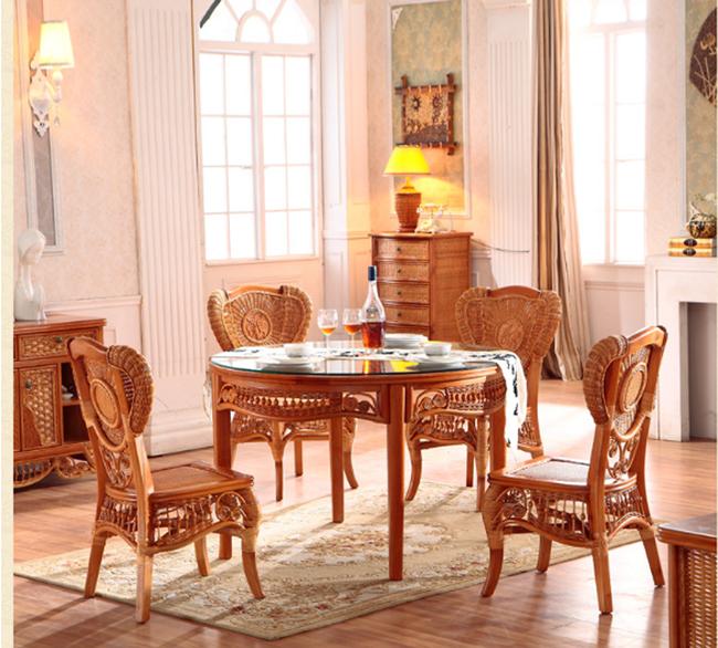 Đã đến lúc bạn nhận ra những bộ bàn ăn mây tre đan đang là lựa chọn của rất nhiều gia đình - Ảnh 1.