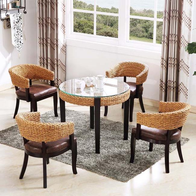 Đã đến lúc bạn nhận ra những bộ bàn ăn mây tre đan đang là lựa chọn của rất nhiều gia đình - Ảnh 3.