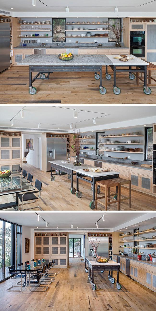 Muốn sở hữu một căn bếp hiện đại thì chẳng thể thiếu được kiểu đảo bếp này - Ảnh 4.