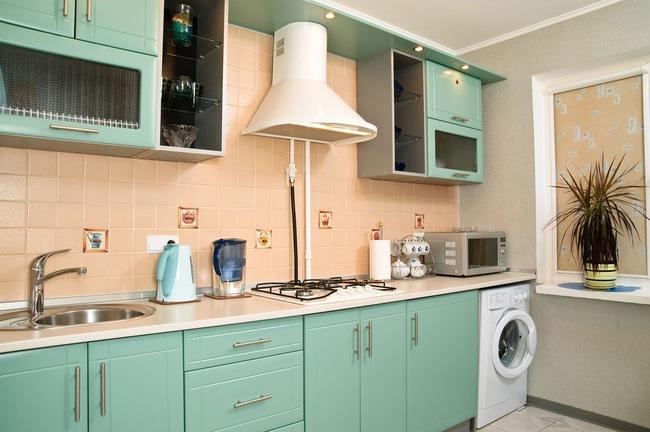 Những mẫu phòng bếp đẹp siêu lòng chị em nhờ sử dụng gam màu pastel - Ảnh 5.