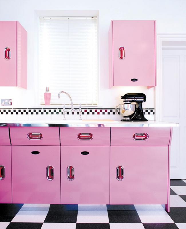 Những mẫu phòng bếp đẹp siêu lòng chị em nhờ sử dụng gam màu pastel - Ảnh 8.