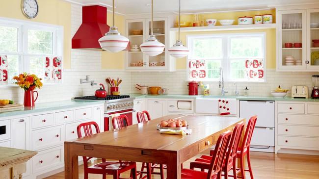Những mẫu phòng bếp đẹp siêu lòng chị em nhờ sử dụng gam màu pastel - Ảnh 10.