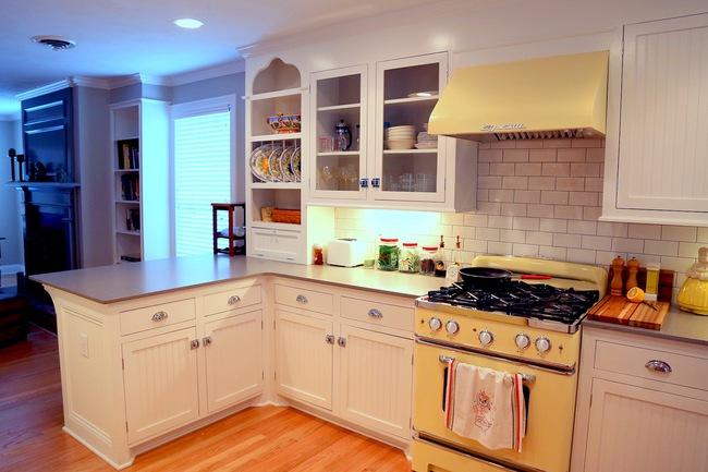 Những mẫu phòng bếp đẹp siêu lòng chị em nhờ sử dụng gam màu pastel - Ảnh 11.