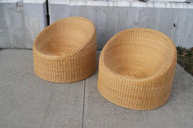 10 mẫu ghế thư giãn bằng chất liệu mây tre đan đẹp kinh điển của những thập niên trước - Ảnh 1.