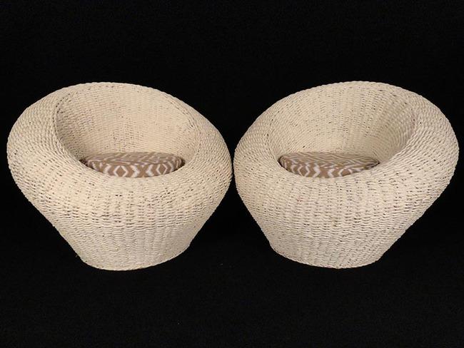 10 mẫu ghế thư giãn bằng chất liệu mây tre đan đẹp kinh điển của những thập niên trước - Ảnh 3.