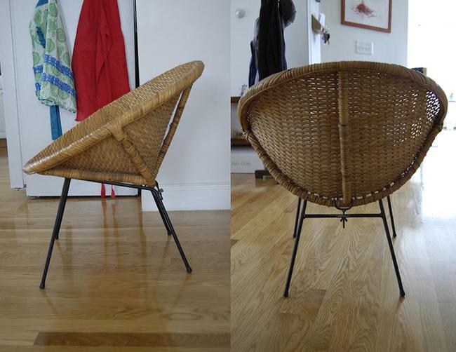 10 mẫu ghế thư giãn bằng chất liệu mây tre đan đẹp kinh điển của những thập niên trước - Ảnh 5.