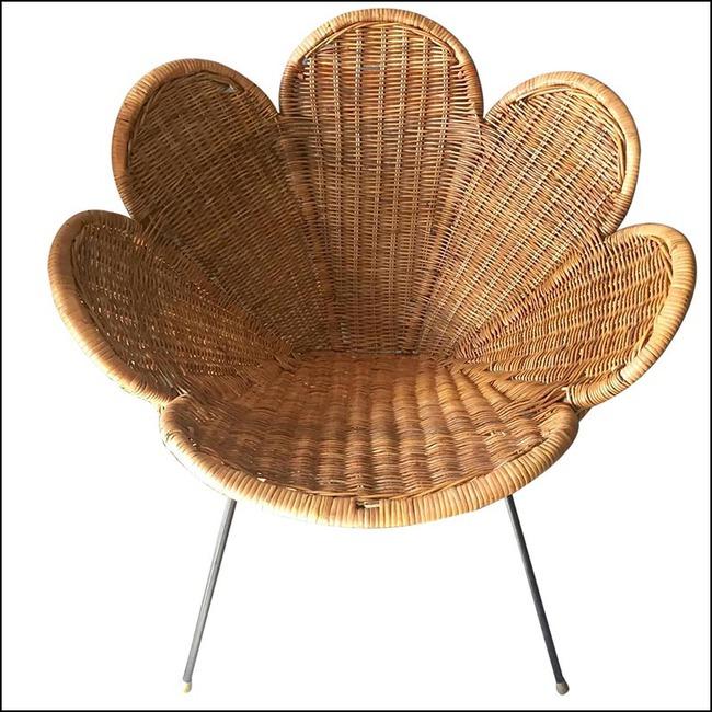 10 mẫu ghế thư giãn bằng chất liệu mây tre đan đẹp kinh điển của những thập niên trước - Ảnh 7.