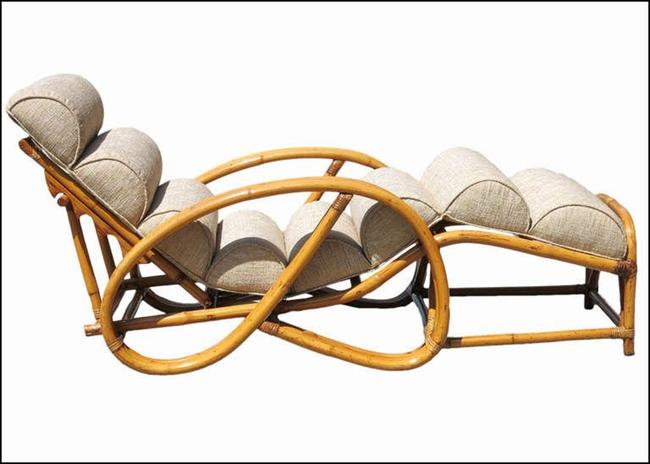 10 mẫu ghế thư giãn bằng chất liệu mây tre đan đẹp kinh điển của những thập niên trước - Ảnh 15.