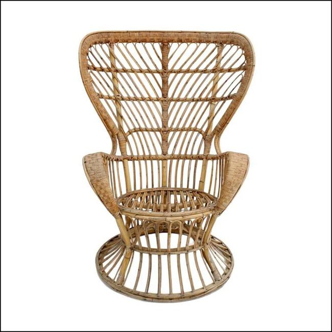 10 mẫu ghế thư giãn bằng chất liệu mây tre đan đẹp kinh điển của những thập niên trước - Ảnh 17.