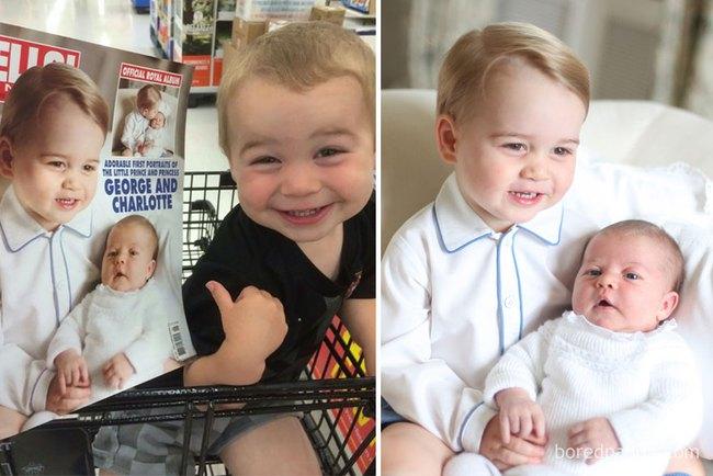 Kinh ngạc trước sự giống nhau đến khó tin của các em bé với người nổi tiếng - Ảnh 5.