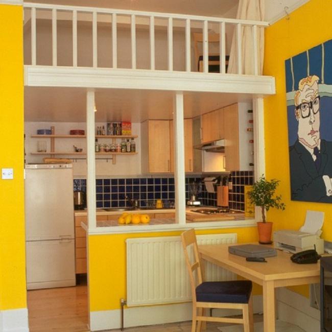 Những mẹo thông minh giúp phòng bếp nhỏ trông rộng thoáng bất ngờ - Ảnh 3.