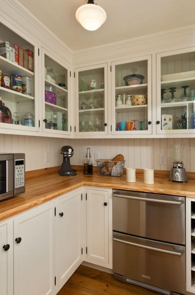 Những mẹo thông minh giúp phòng bếp nhỏ trông rộng thoáng bất ngờ - Ảnh 5.