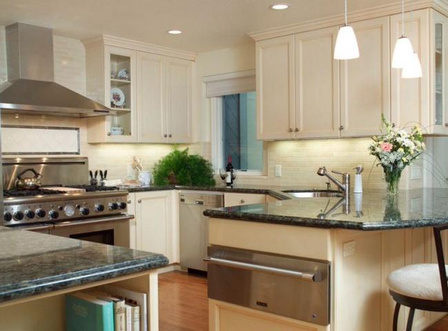 Những mẹo thông minh giúp phòng bếp nhỏ trông rộng thoáng bất ngờ - Ảnh 6.