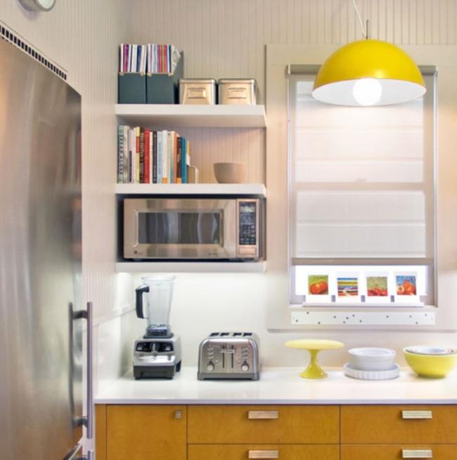 Những mẹo thông minh giúp phòng bếp nhỏ trông rộng thoáng bất ngờ - Ảnh 7.