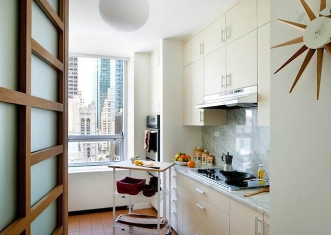 Những mẹo thông minh giúp phòng bếp nhỏ trông rộng thoáng bất ngờ - Ảnh 8.