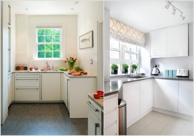 Những mẹo thông minh giúp phòng bếp nhỏ trông rộng thoáng bất ngờ - Ảnh 11.