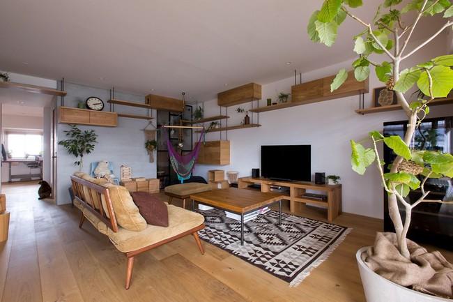 Ngắm căn hộ độc đáo với nội thất đầy sáng tạo của đôi vợ chồng người Nhật - Ảnh 4.