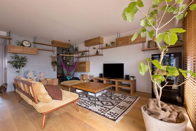 Ngắm căn hộ độc đáo với nội thất đầy sáng tạo của đôi vợ chồng người Nhật - Ảnh 5.