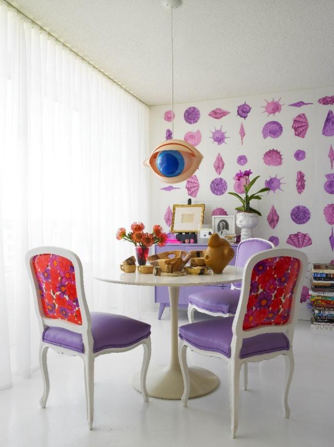 Gợi ý thiết kế phòng ăn đẹp lãng mạn khiến bạn nhìn là yêu - Ảnh 7.