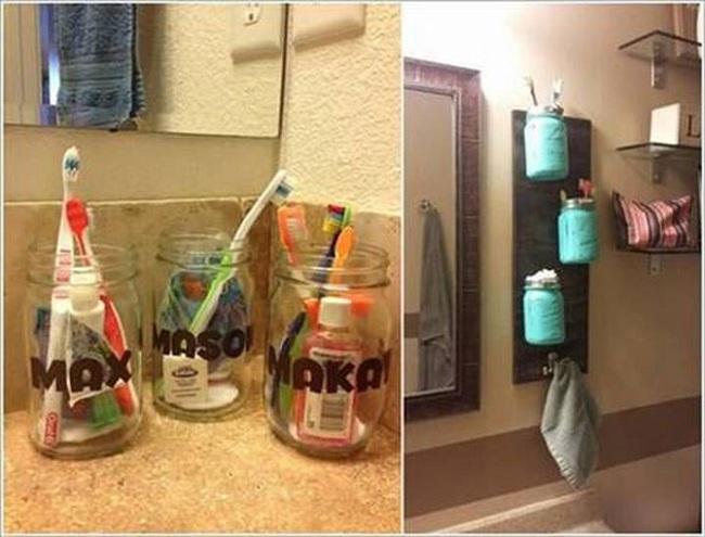 10 cách tái chế hoàn hảo những vật phẩm đơn giản để cất giữ bàn chải đánh răng  - Ảnh 3.