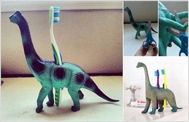 10 cách tái chế hoàn hảo những vật phẩm đơn giản để cất giữ bàn chải đánh răng  - Ảnh 6.