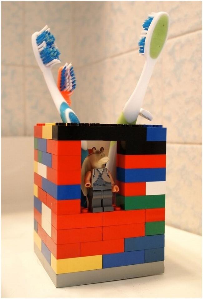 10 cách tái chế hoàn hảo những vật phẩm đơn giản để cất giữ bàn chải đánh răng  - Ảnh 8.