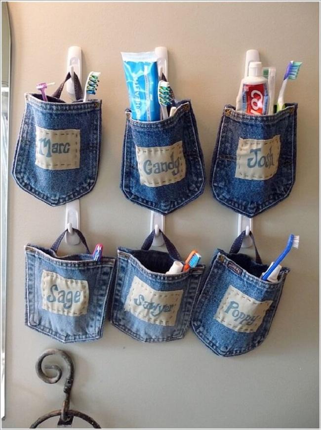 10 cách tái chế hoàn hảo những vật phẩm đơn giản để cất giữ bàn chải đánh răng  - Ảnh 9.