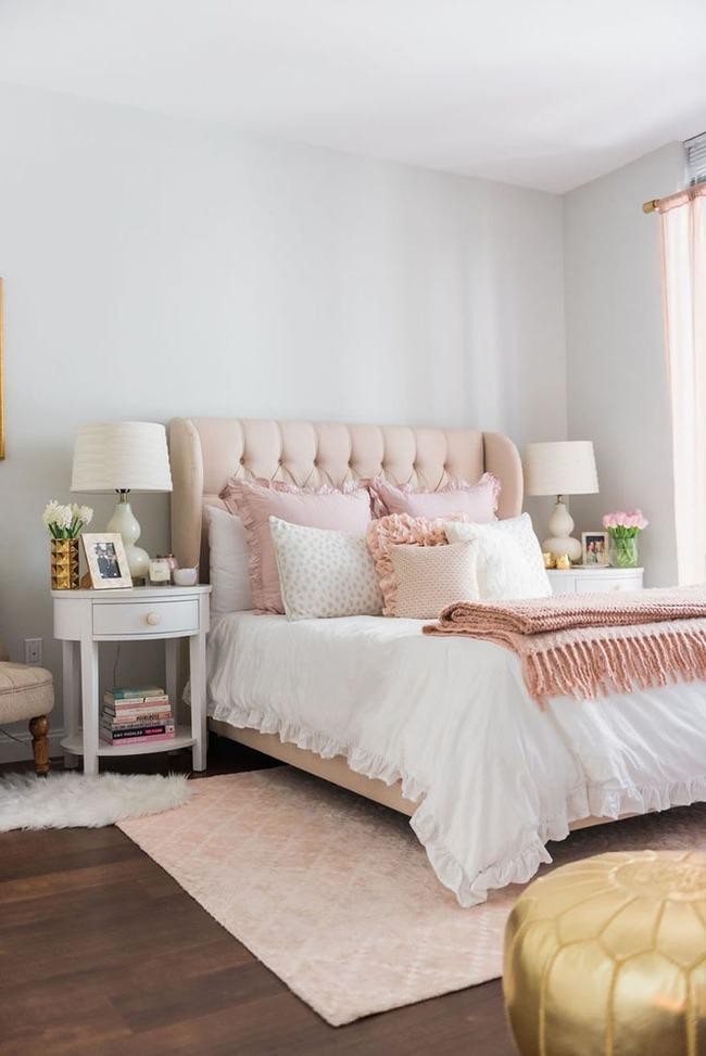 Là con gái ai chẳng thích có một căn phòng ngủ như thế này - Ảnh 2.