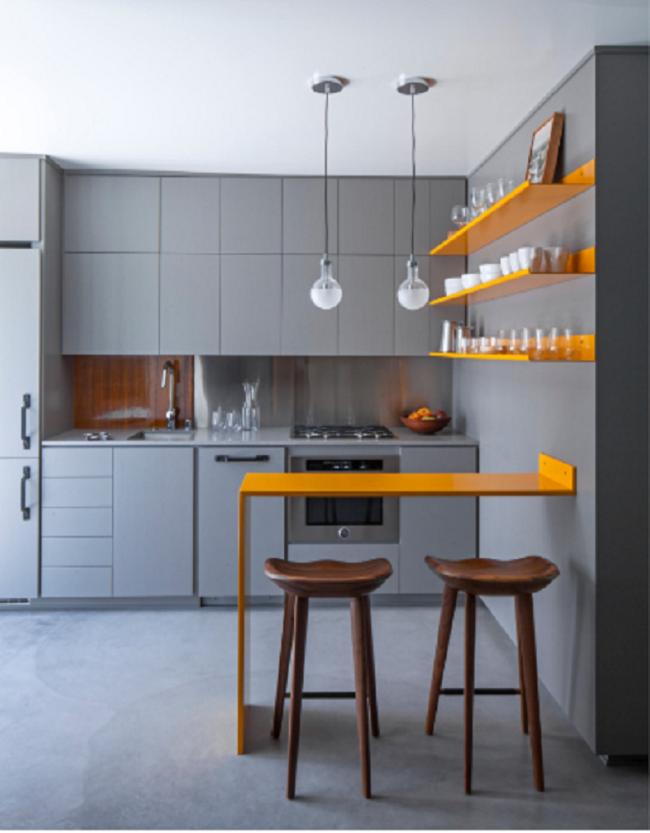 10 điều mà các chuyên gia khuyên dùng cho những ai sở hữu một căn bếp chật - Ảnh 8.