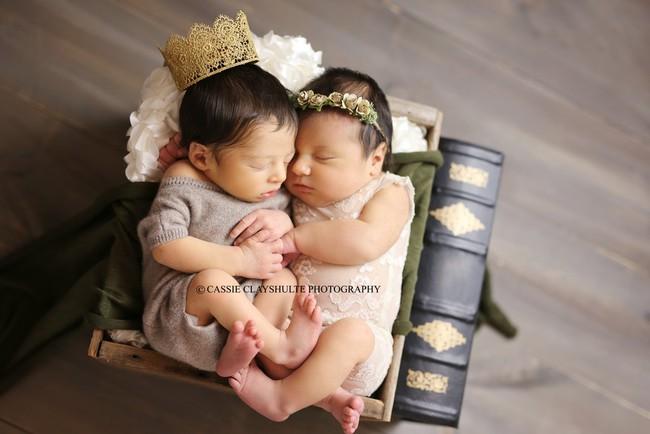 Câu chuyện bất ngờ đằng sau bức ảnh chụp Romeo và Juliet vừa mới sinh - Ảnh 6.