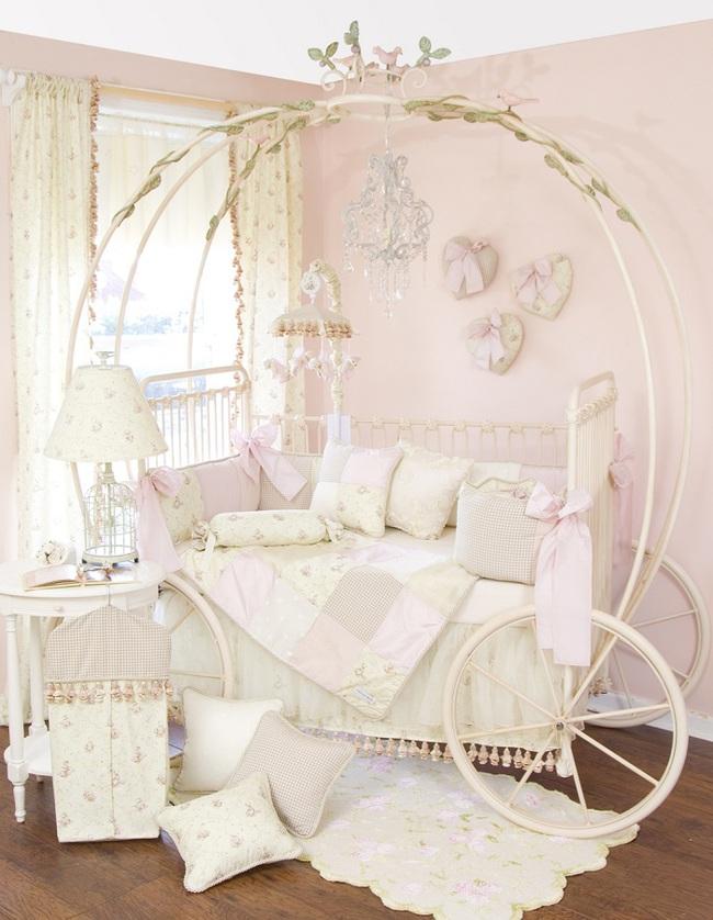 15 mẫu thiết kế giường ngủ đặc sắc các gia đình có con gái không thể bỏ qua - Ảnh 14.