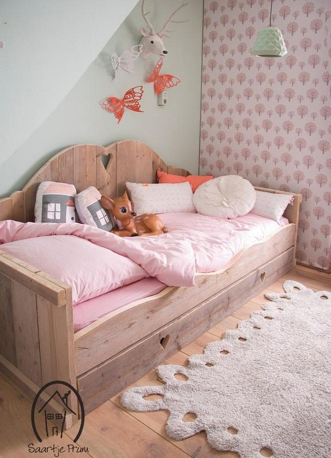Thiết kế phòng ngủ cho bé gái dễ thương như trong cổ tích làm các bậc phụ huynh phải học tập tức thì - Ảnh 6.