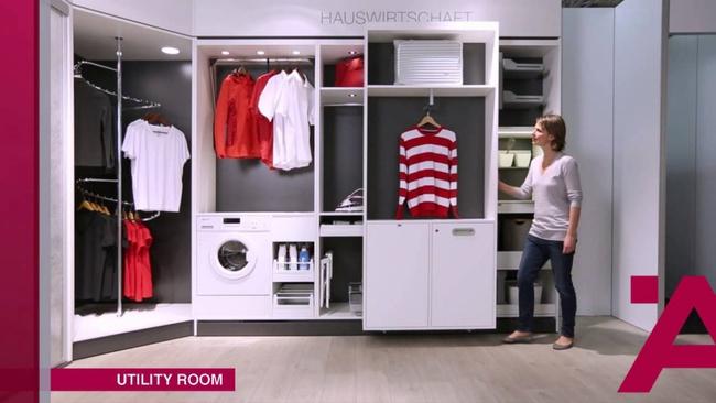 Ấn tượng với tủ đựng đồ đa năng thông minh dành cho nhà hẹp   - Ảnh 2.