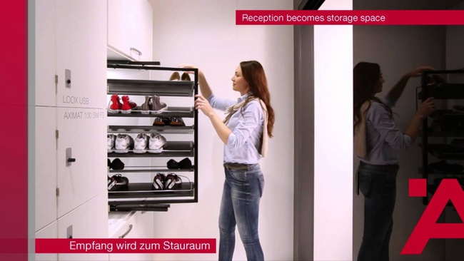Ấn tượng với tủ đựng đồ đa năng thông minh dành cho nhà hẹp   - Ảnh 5.