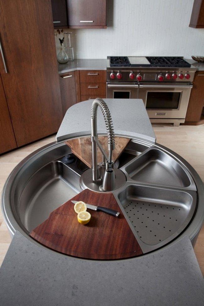 13 mẫu bồn rửa chẳng thể bỏ qua cho dù là lần đầu nhìn thấy - Ảnh 7.