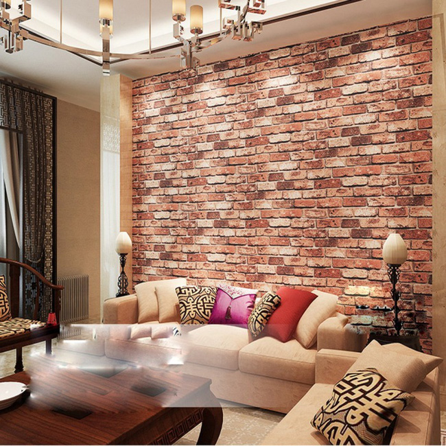 Xốp giả gạch 3D - xu hướng trang trí tường mới vừa đẹp vừa rẻ cho không gian sống  - Ảnh 2.