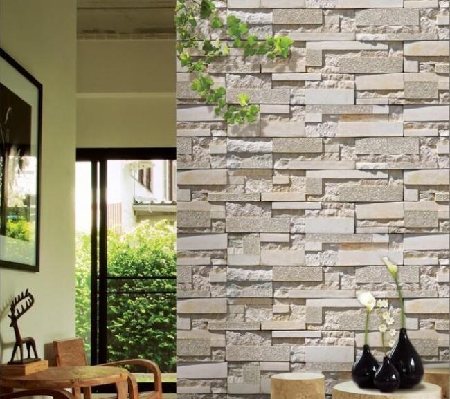 Xốp giả gạch 3D - xu hướng trang trí tường mới vừa đẹp vừa rẻ cho không gian sống  - Ảnh 3.