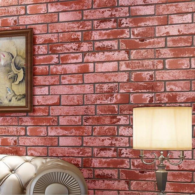 Xốp giả gạch 3D - xu hướng trang trí tường mới vừa đẹp vừa rẻ cho không gian sống  - Ảnh 4.