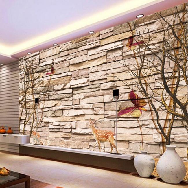 Xốp giả gạch 3D - xu hướng trang trí tường mới vừa đẹp vừa rẻ cho không gian sống  - Ảnh 11.