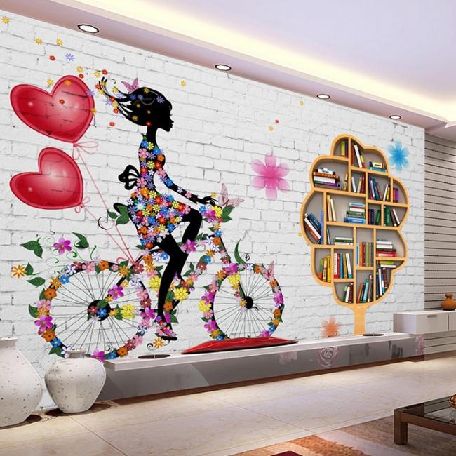 Xốp giả gạch 3D - xu hướng trang trí tường mới vừa đẹp vừa rẻ cho không gian sống  - Ảnh 12.