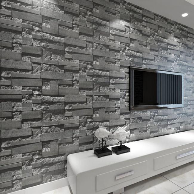 Xốp giả gạch 3D - xu hướng trang trí tường mới vừa đẹp vừa rẻ cho không gian sống  - Ảnh 13.