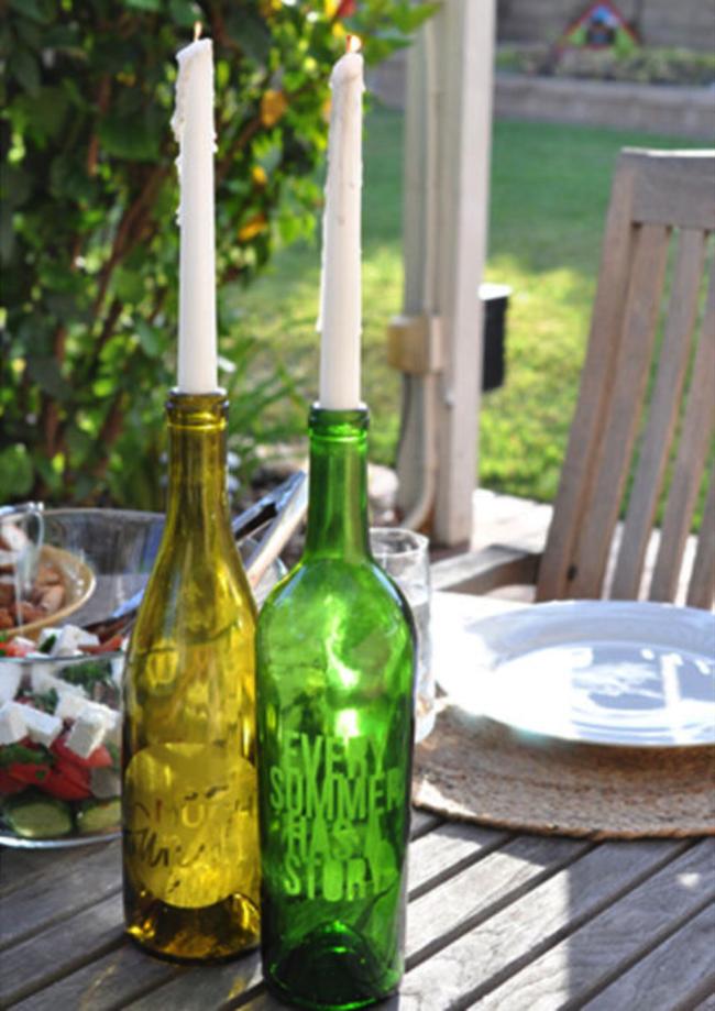 Chẳng thể ngờ những chiếc đèn đẹp lung linh này lại được làm từ chai thủy tinh tái chế - Ảnh 2.