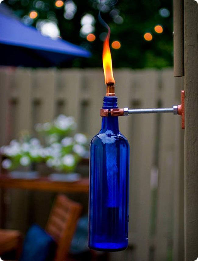 Chẳng thể ngờ những chiếc đèn đẹp lung linh này lại được làm từ chai thủy tinh tái chế - Ảnh 5.